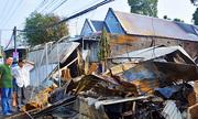 Cháy chợ ở miền Tây, nhiều cửa hàng bị thiêu rụi