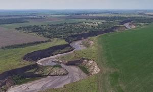 Dòng sông dài gần 26 km xuất hiện ở Argentina