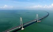 Trung Quốc sắp khánh thành cầu vượt biển dài nhất thế giới
