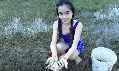 Người đẹp đã câu được bao nhiêu con cá?