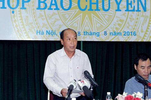 Ông Nguyễn Quang Huyền - Phó cục trưởng Cục Quản lý, giám sát bảo hiểm (Bộ Tài chính).