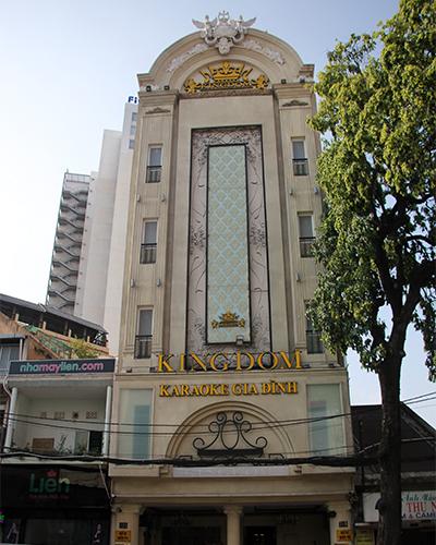 Karaoke Kingdom đường Trần Quang Khải vi phạm hàng loạt lỗi PCCC. Ảnh: Duy Trần