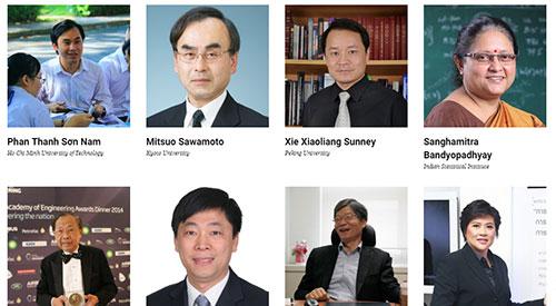 GS TS Phan Thanh Sơn Nam trong danh sách 100 nhà khoa học hàng đầu châu Á.