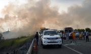 Khói làm 10 ôtô bị nạn trên cao tốc Long Thành, trách nhiệm của ai?