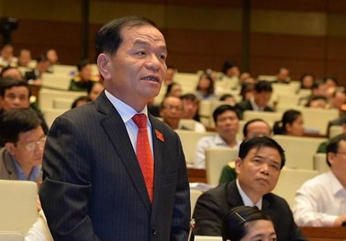 Đại biểu Lê Thanh Vân. Ảnh: QH