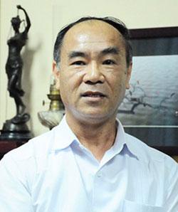 Chánh Thanh tra Bộ Giáo dục và Đào tạo Nguyễn Huy Bằng. Ảnh: Xuân Trung.