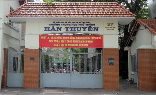 Nói tục với học sinh, thầy giáo ở Sài Gòn bị đình chỉ dạy