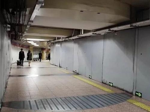 Cửa thép bí mật chống bom hạt nhân ở ga tàu điện ngầm Bắc Kinh