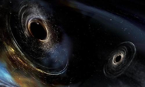 Xung quanh hố đen trung tâm của dải Ngân hà có thể tồn tại hàng nghìn hố đen nhỏ hơn. Ảnh: New Scientist.