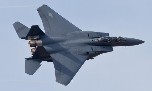 Một tiêm kích F-15K của Hàn Quốc. Ảnh: Yonhap.