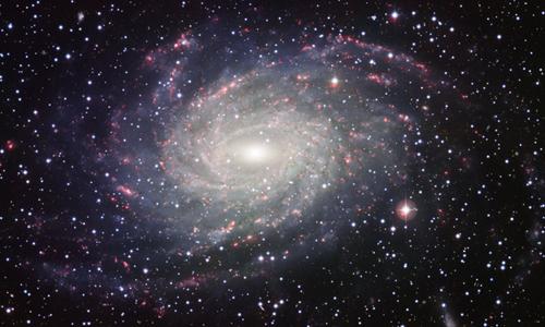 Thiên hà NGC 6744 có dạng xoắn ốc tương tự dải Ngân hà. Ảnh: Space.