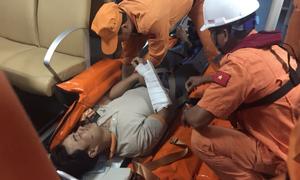 Hai tàu chìm sau va chạm, 19 thuyền viên được cứu sống