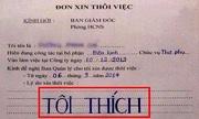 Những lá đơn xin nghỉ việc 'chất nhất Việt Nam'