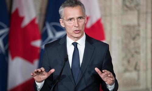 Tổng thư ký NATO Jens Stoltenberg. Ảnh: AFP.