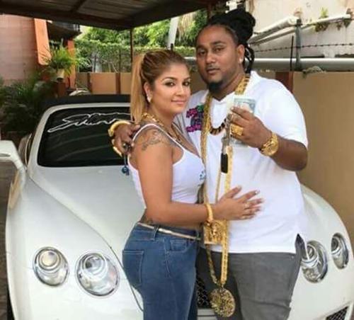 Sukhedo và vợ, Rachel. Ảnh: Jam Press