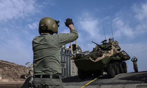 Quân đội Mỹ tham gia diễn tập ở Djibouti năm 2017. Ảnh: USArmy.