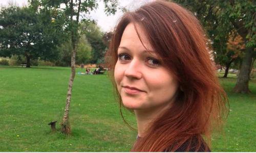 Yulia Skripal, con gái cựu điệp viên Nga Sergei Skirpal, trong bức ảnh được đăng lên trang mạng xã hội cá nhân. Ảnh: Mirror.