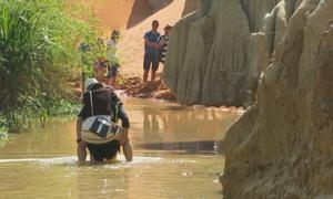 Thắng cảnh suối Tiên ở Bình Thuận bị đục bẩn