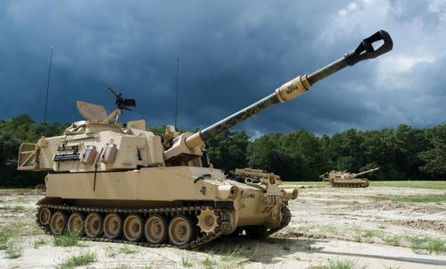 Pháo tự hành M109A6 Paladin của Mỹ. Ảnh: Wikipedia.