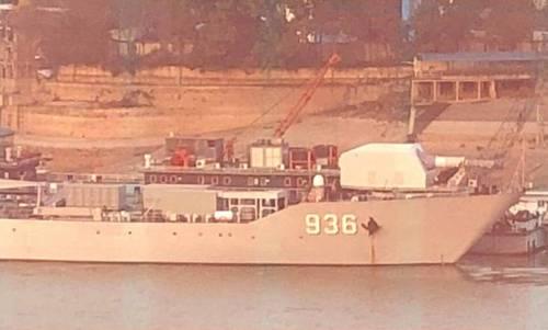 Mẫu pháo điện từ trên tàu chiến bị nghi là 'đòn gió' của Trung Quốc