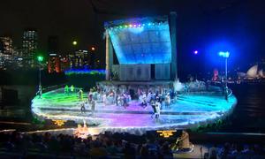 Sân khấu Opera ngoài trời 3.000 chỗ ngồi ở Sydney