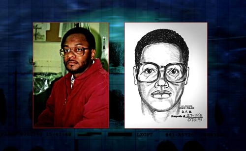 Phác thảo chân dung các nghi phạm.