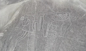 Phát hiện 50 hình vẽ cổ đại trên sa mạc Peru