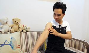 Chàng trai bị kéo xuống 'hố tử thần' ở Quảng Ninh