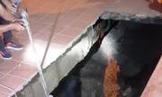 'Hố tử thần' ở Quảng Ninh có thể do hoạt động hang ngầm