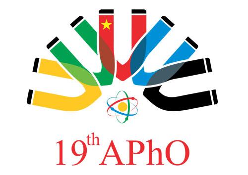 Logo chính thức của kỳ thi Olympic Vật lý châu Á 2018. Ảnh: BTC.