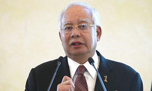 Thủ tướng Malaysia Najib. Ảnh: Hindu Times.