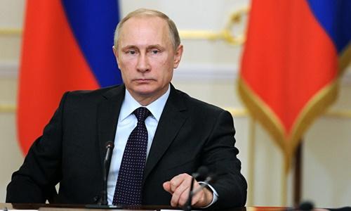 Tổng thống Nga Vladimir Putin. Ảnh:Tass.