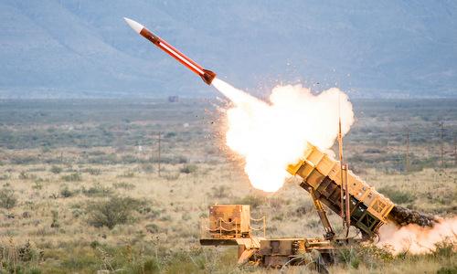 Tên lửa Patriot PAC-3 bắn thử nghiệm năm 2017 tại Mỹ. Ảnh: Raytheon.
