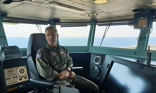 Tư lệnh tàu sân bay Mỹ: Mỹ cần duy trì sự hiện diện ở khu vực Châu Á Thái Bình Dương