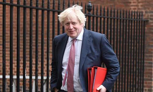Ngoại trưởng Anh Boris Johnson. Ảnh: Guardian.