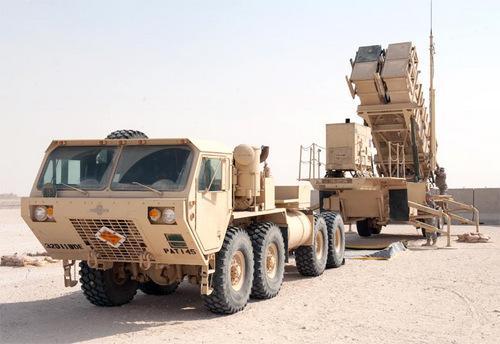 Bệ phóng tên lửa Patriot được Mỹ triển khai tại Iraq. Ảnh: Military Today.