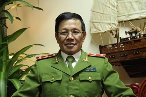 Ông Phan Văn Vĩnh khi làm Tổng cục trưởng Tổng cục Cảnh sát. Ảnh: Công an nhân dân