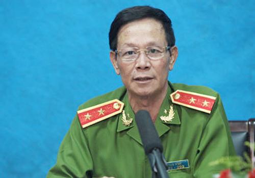 Ông Phan Văn Vĩnh khi nói về vụ án Lê Văn Luyện. Ảnh: Công an nhân dân
