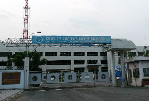 Trụ sở Công ty quản lý bay Miền Nam trên đường Cộng Hòa, quận Tân Bình (TP HCM). Ảnh: Hữu Nguyên