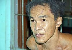 Người dân địa phương cho biết hung thủ Nguyễn Thanh Tâm là người nghiện rượu. Ảnh: Minh Hoà