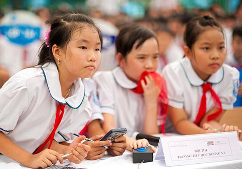 Một số trường ở Hà Nội sẽ được xét tuyển kết hợp kiểm tra đánh giá năng lực để tuyển sinh vào lớp 6. Ảnh minh hoạ.