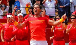 Rafael Nadal 3-0 Alexander Zverev