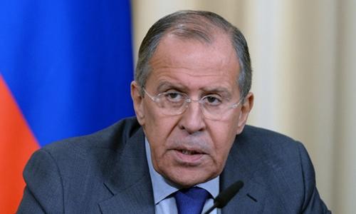 Ngoại trưởng Nga Sergei Lavrov. Ảnh:RT.
