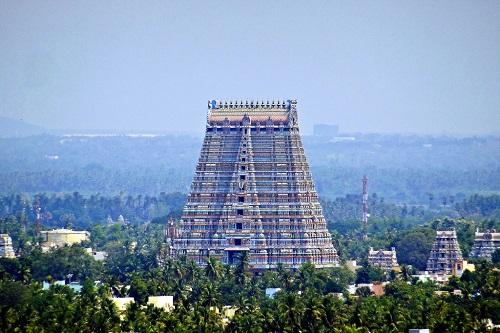 Đền Sri Ranganathaswamy ở Ấn Độ. Ảnh: Flickr