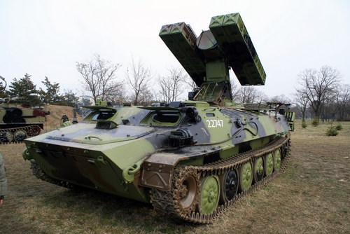 Tổ hợp Strela-10 của Ba Lan, tương tự phiên bản trong biên chế Syria. Ảnh: Wikipedia.