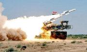 Phòng không Syria khai hỏa đánh chặn tên lửa hành trình