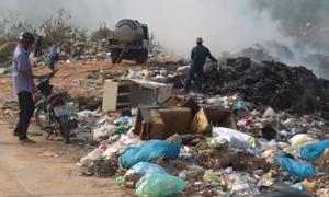 Hàng trăm hộ dân Đăk Lăk sống bên bãi rác 2,2 ha