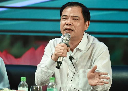 Bộ trưởng Nông nghiệp và Phát triển Nông thôn Nguyễn Xuân Cường. Ảnh: Lê Hiếu.