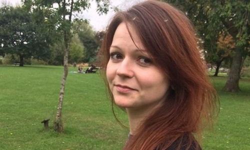 Yulia Skripal, con gái cựu điệp viên hai mang Nga Sergei Skripal. Ảnh: Facebook.