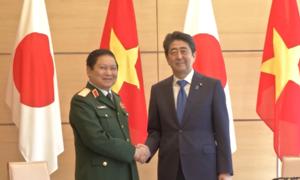 Bộ trưởng Ngô Xuân Lịch tiếp kiến thủ tướng Nhật Bản